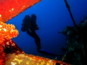 Wreck diving in Madagascar with Triton Dive Lodge